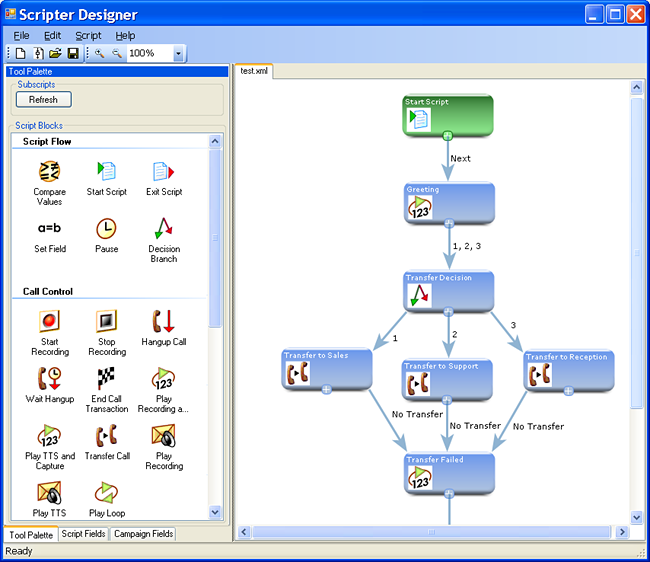 Collection Software Scripter